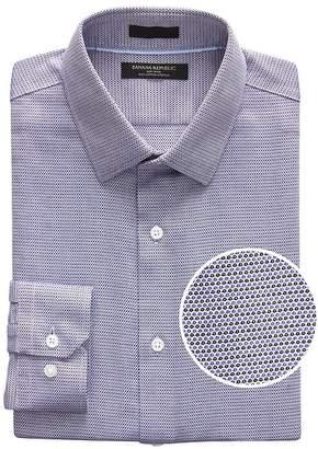 Banana Republic Camden Standard-Fit Non-Iron Dot Shirt
