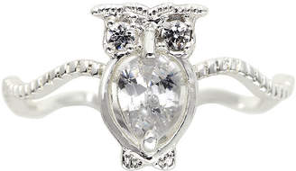 JCPenney THE SKINNY the skinny Cubic Zirconia Owl Ring