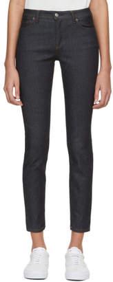 Acne Studios Bla Konst Indigo Climb Jeans