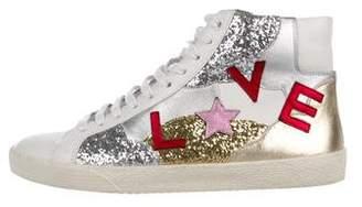 Saint Laurent Court Classic SL/06 Love Sneakers