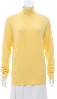 Fendi Long Sleeve Turtleneck Knit Top w/ Tags