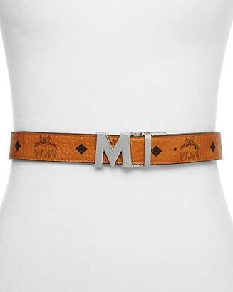 MCM Color Visetos Reversible Belt
