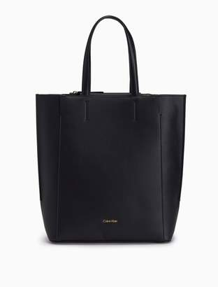 Calvin Klein pebble north/south tote bag