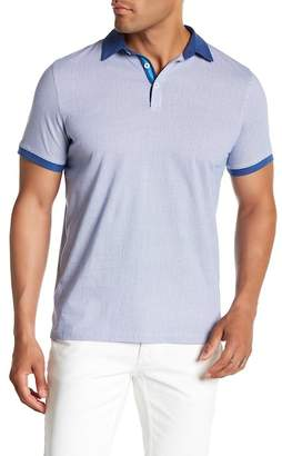 Toscano Short Sleeve Knit Polo