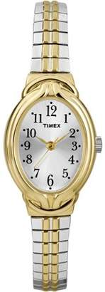 Timex Women's Greenmount Terrace Watch, Two-Tone Stainless Steel Expansion Band