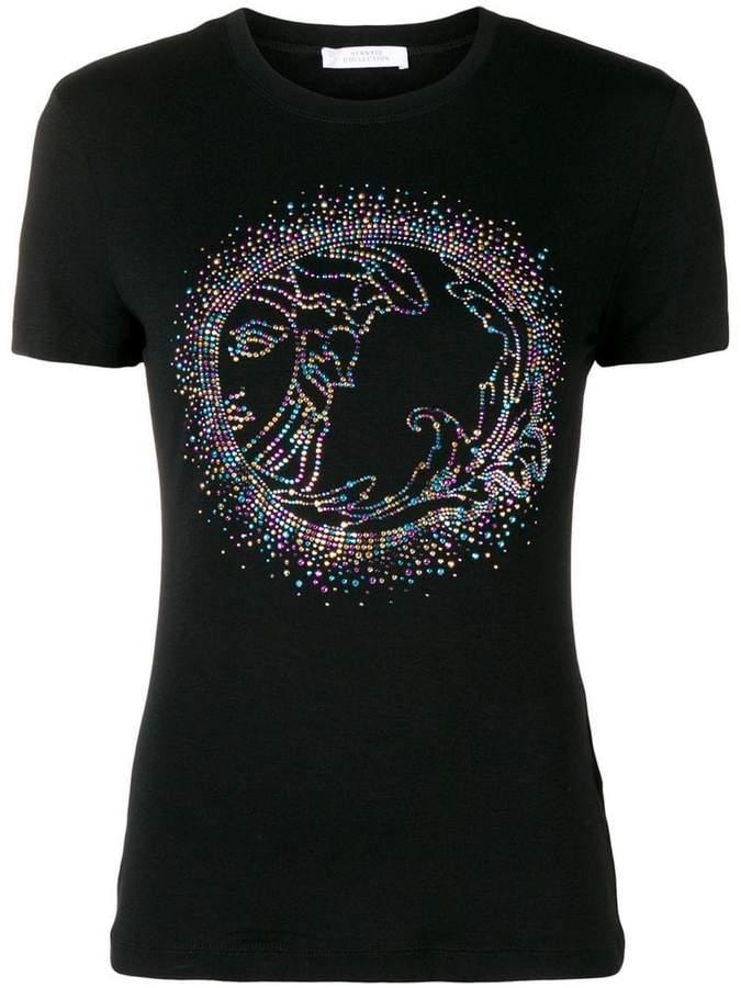 embellished Medusa T-shirt