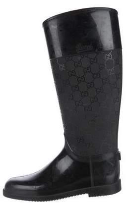 Gucci GG Mid-Calf Rain Boots