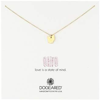 "Dogeared State Of Mind"" Ohio Necklace"