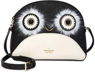 Kate Spade Penguin Hilli Saffiano Leather Crossbody