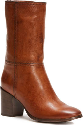 Frye Nora Mid Pull On Leather Boot