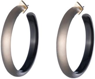 Alexis Bittar Large Lucite® Hoop Earrings