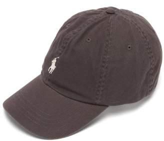Polo Ralph Lauren Logo Embroidered Cotton Baseball Cap - Mens - Grey