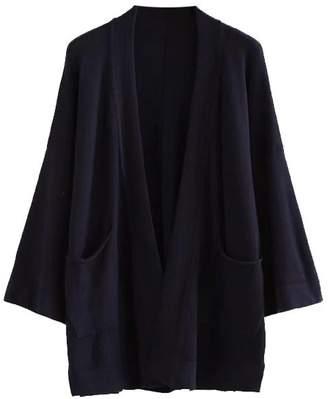Goodnight Macaroon 'Paityn' Three Quarter Sleeve Open Cardigan (2 Colors)