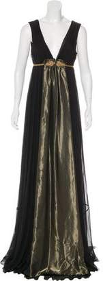 Nicole Miller Silk Metallic Dress w/ Tags
