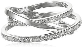 Swarovski Ring-Shaped glass, transparent - 5102500 silver
