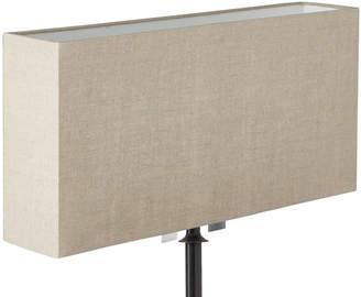 OKA 50cm Narrow Rectangular Linen Lampshade