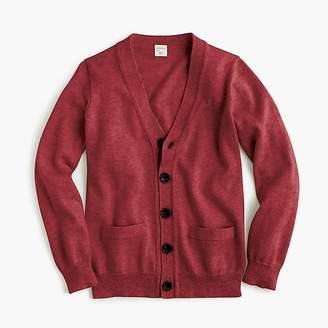 J.Crew Boys' cotton-cashmere cardigan sweater