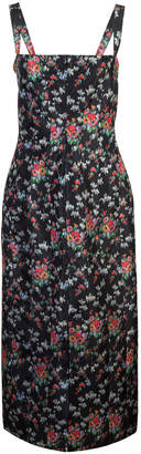 Brock Collection floral midi dres