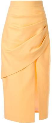 Butter Shoes Aleksandre Akhalkatsishvili Yellow Skirt