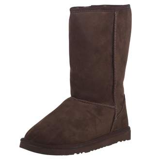 KOZIES Women's Suede Boots (Slip On) - Warm Fur Interior Lining | Rubber Blend Sole | Color - Size 7US