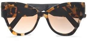 Marc Jacobs Cat-Eye Tortoiseshell Acetate Sunglasses