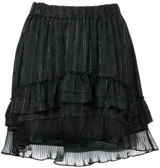 Isabel Marant short ruffled skirt