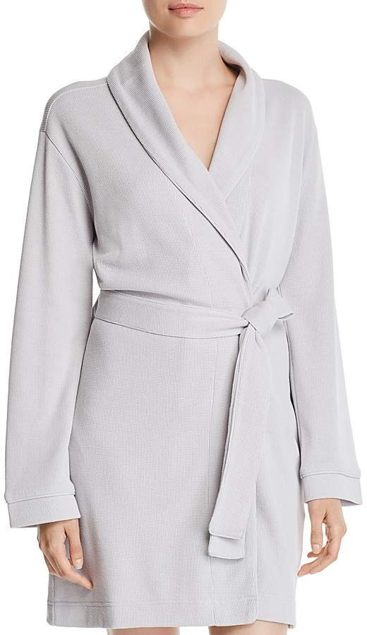 Hudson Park Collection Pique Knit Bath Robe - 100% Exclusive