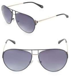 Balmain 60MM Aviator Sunglasses