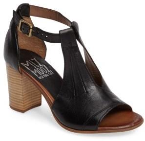 Women's Miz Mooz Savannah T-Strap Strap Sandal $149.95 thestylecure.com