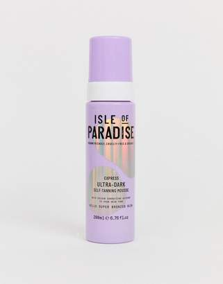Express Isle Of Paradise Isle of Paradise Ultra Dark Self Tanning Mousse