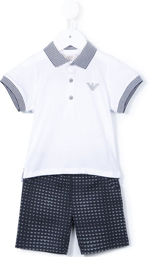 Armani JuniorArmani Junior polo shirt and shorts