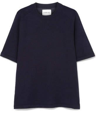 Carcel - Uni Baby Alpaca T-shirt - Navy