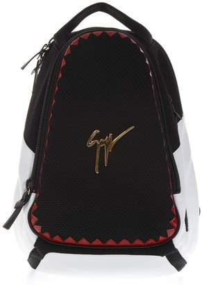 Giuseppe Zanotti Two Colors Fabric Backpack