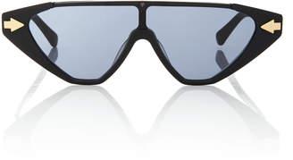 Karen Walker Hallelujah Aviator-Style Acetate Sunglasses