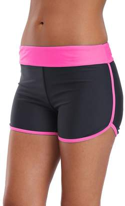 INITIA Women's Active Swim Short Sporty Tankini Bottom Boyshort Board Short 2XL