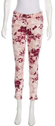 J Brand High-Rise Printed Jeans w/ Tags