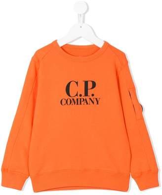 C.P. Company Kids crewneck logo sweater