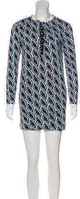 Diane von Furstenberg Nana Long Sleeve Dress