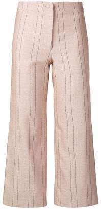 Roseanna pinstripe cropped trousers