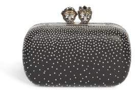 Alexander McQueen Queen& King Studded Clutch