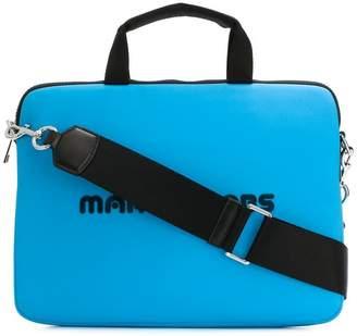 Marc Jacobs logo laptop bag