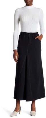 Allen Allen Metallic Accent Maxi Skirt $78 thestylecure.com