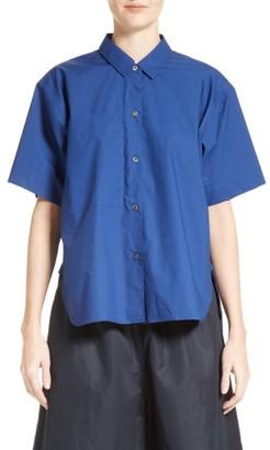 Women's Sofie D'Hoore Badge Shirt $340 thestylecure.com