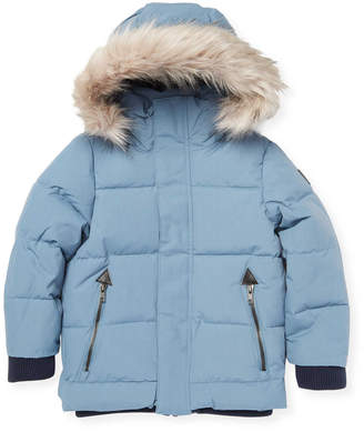 Molo Trimmed Quilted Puffer Jacket
