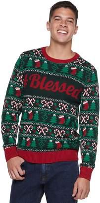 "Men's ""Blessed"" Christmas Sweater"