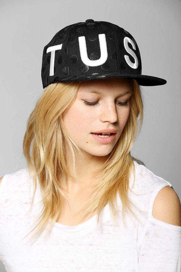 Stussy X UO Polka Dot Snapback Hat
