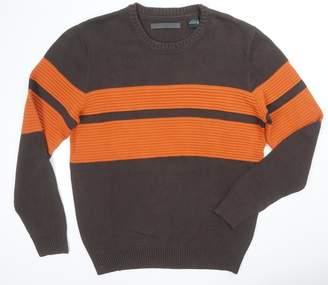 Sean John Mens Big & Tall Colorblocked Ribbed Trim Pullover Sweater L