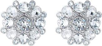 Nina Silver-Tone Cluster Earrings