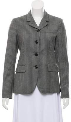 Luciano Barbera Wool Button-Up Blazer w/ Tags
