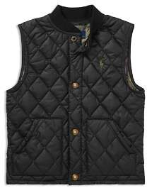 Ralph Lauren Boys' Quilted Vest - Little Kid